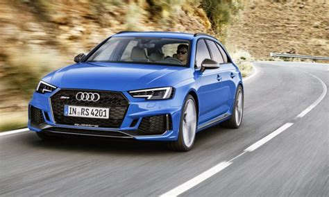 new audi rs4 avant it s back audi officially unwraps the new rs4 avant