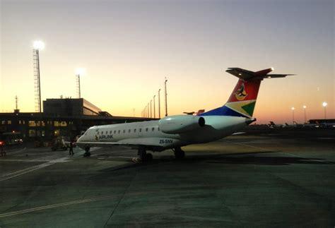 sa airlink flights  harare hre flights