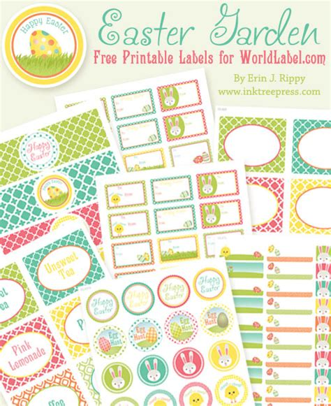 printable easter labels free more free easter printables the frugal female