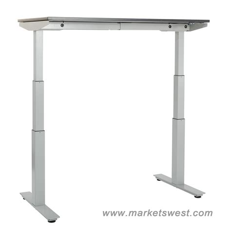 Adjustable Height Desk Electric by Ascend Electric Adjustable Height Table Desk With 24 Quot X 48