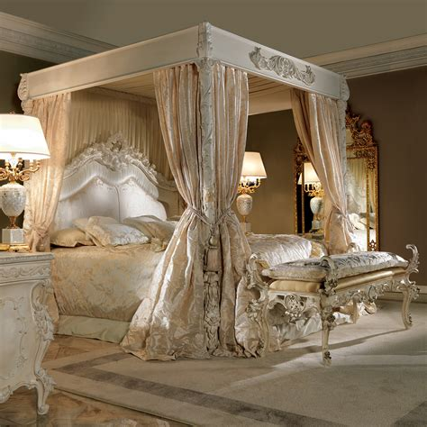 italian canopy bed extravagant luxurious 4 poster bed juliettes interiors