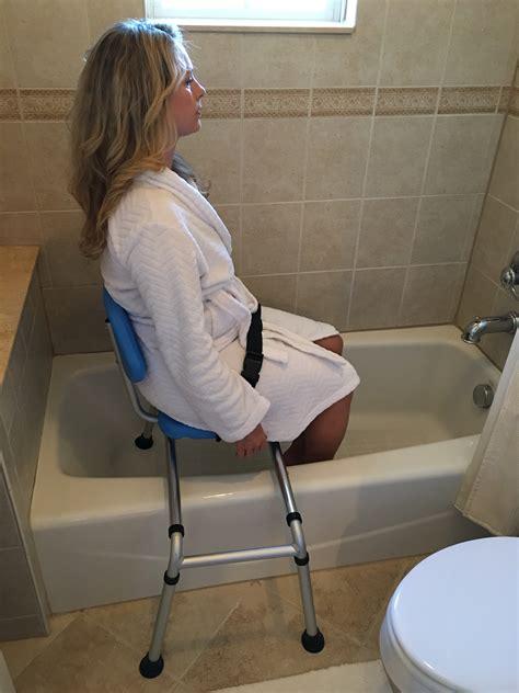 sliding shower bench with swivel seat gateway premium sliding bath shower transfer bench padded