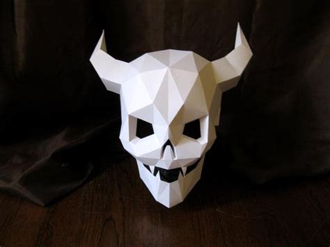 cardboard skull template the world s catalog of ideas