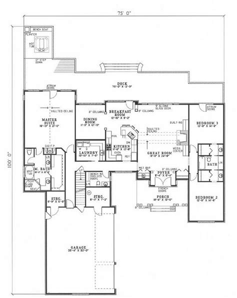 plan 110 00919 2 bedroom house plan 110 00229 traditional plan 2 611 square feet