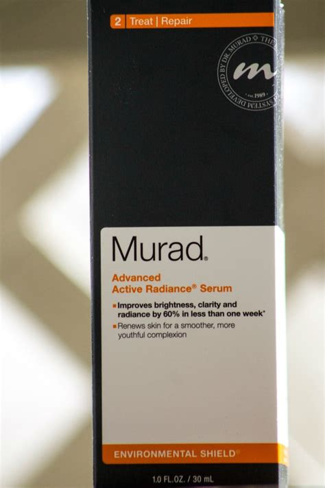 Advanced Active Radiance Serum Murad new murad products i m loving a giveaway s lookbook