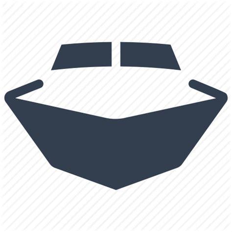 boat front icon boat cruise front marine nautical transportation