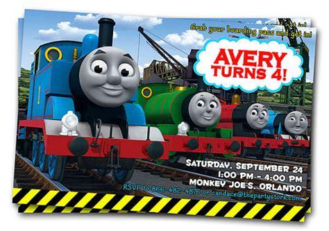 the tank engine template free printable the tank engine birthday invitations