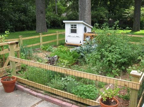 Backyard Stories by Chicken Coop And Vegetable Garden Design 3 Backyard