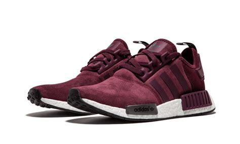 Adidas Nmd Maroon Bergundy selling adidas nmd r1 runner suede w burgundy maroon solid grey s75231 s s casual