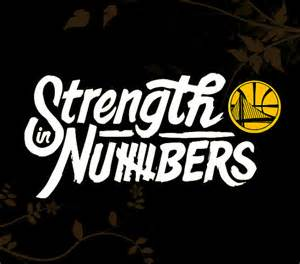 2 color custom strength in numbers golden state warriors