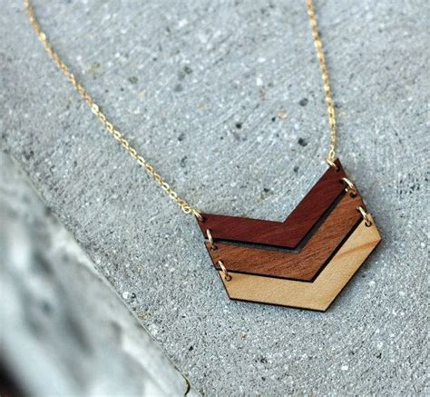 wooden jewelry best 25 wood necklace ideas on
