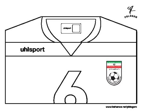 Excellent Iran World Cup Tshirt Coloring Page With T Shirt Cool Shirt Coloring Pages