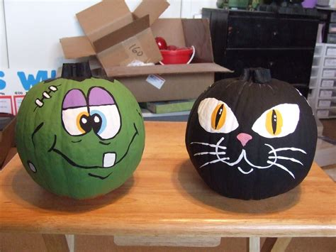painted pumpkin ideas jean s crafty corner day 14 of projects