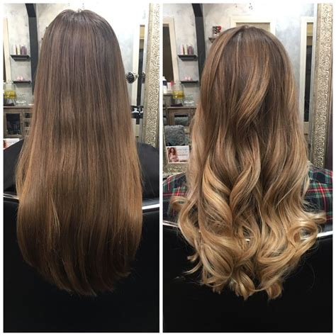 should wash hair before bayalage 25 best ideas about balayage before and after on