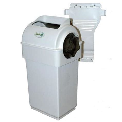 2 7 gal indoor compost collector with tumbler mr eco