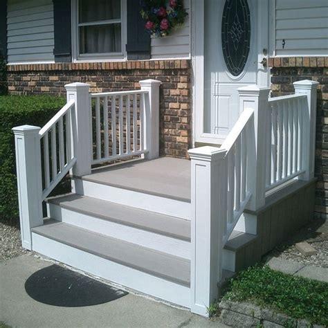 composite decking  concrete steps  dont