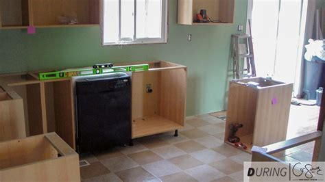 diy install kitchen cabinets installing ikea base cabinets madness method
