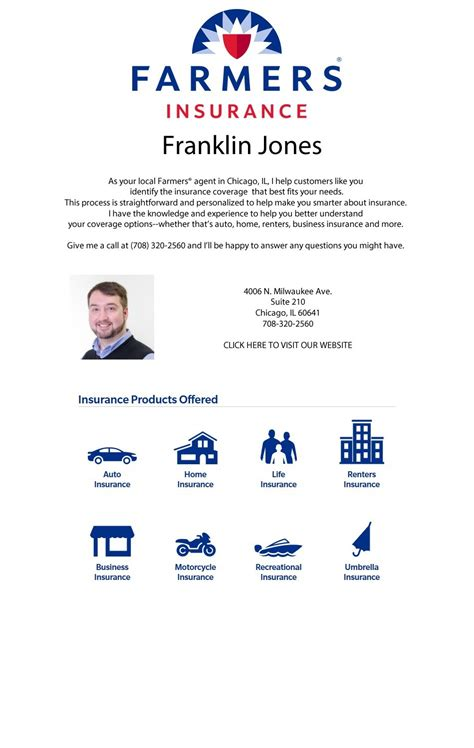 insurance portage park 60641 franklin jones farmers