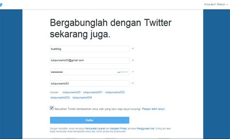 cara membuat gambar twitter cara membuat akun twitter terbaru 2017 belajar cara