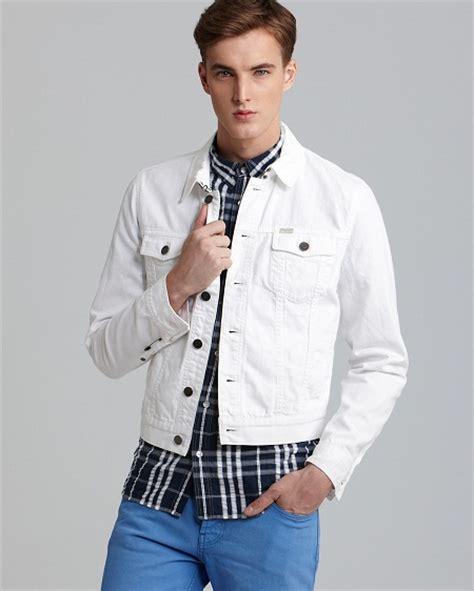 Jaket Denim White white denim jackets jackets