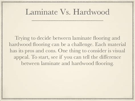 Difference Between Hardwood And Laminate Flooring by Can You Tell The Difference Between Laminate And Hardwood
