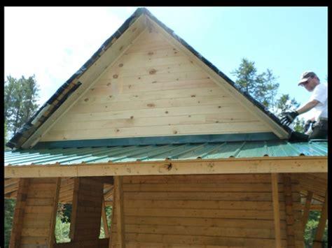 aiki homestead finishing  steel roof   sauna