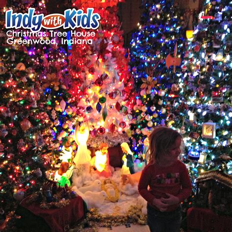 christmas tree house christmas tree house in greenwood indiana indy with kids