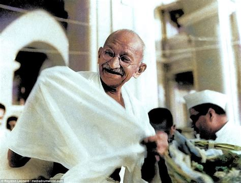 gandhi born year indian independence brought to life in colour 70 years on