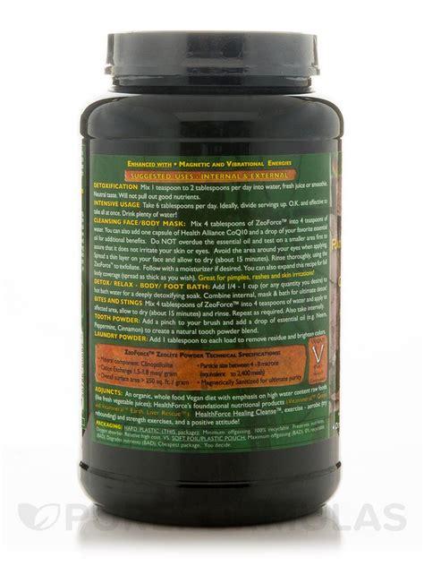 Zeoforce Detox Reviews by Zeoforce Detoxify Daily 1500 Grams