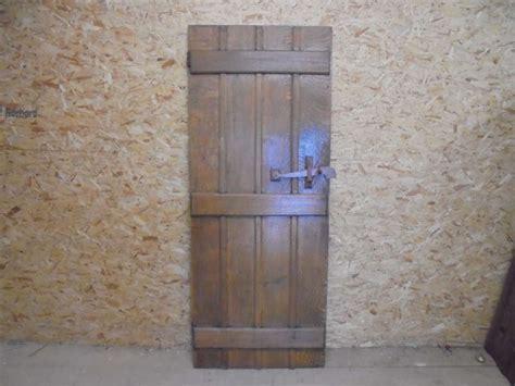 Reclaimed Oak Ledged Door Authentic Reclamation Reclaimed Oak Front Door