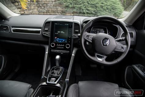 renault koleos 2017 interior 2017 renault koleos diesel review video performancedrive