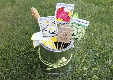 Mothers Day Gardening Gift I Heart Nap Time Gardening Gift Ideas For