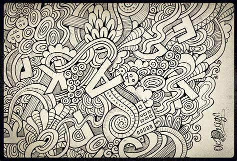 doodle letter doodle letters on behance