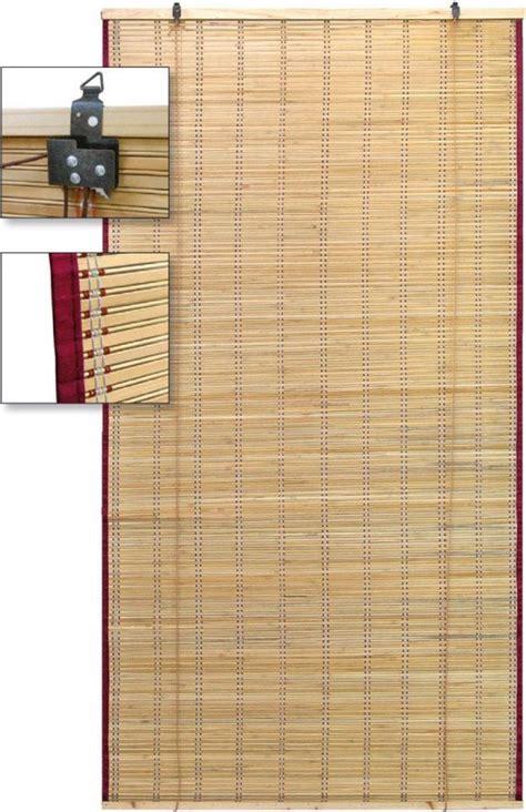 tende bamboo utilia arella bamboo tenda ombreggiante con carrucole da