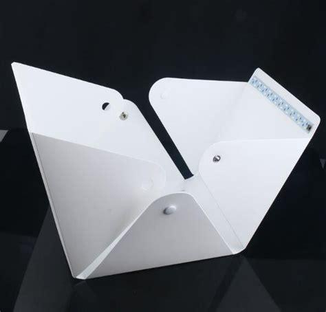 Photo Studio Mini Dengan Lu Led Putih photo studio mini 1 button dengan led dan 4pcs background size m white jakartanotebook
