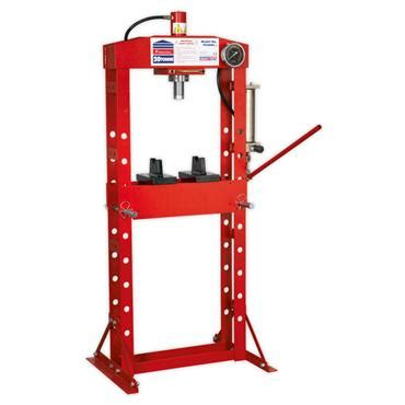 1 Ton Hydraulic Floor Press by Sealey 20 Ton Hydraulic Floor Press Available