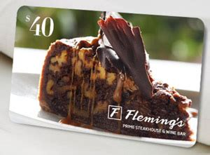 Fleming S Gift Card Discount - free 40 credit at fleming s prime steakhouse free food with dining credit