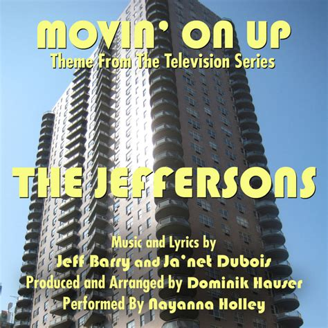 theme song jeffersons dubois movin on up the jeffersons theme song genius