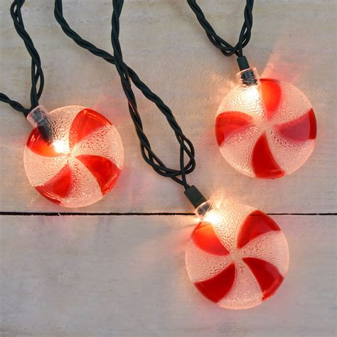 candy drop christmas lights spiral peppermint candy christmas novelty lights