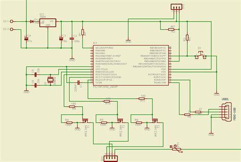 rgb led circuit diagram usb rgb led controller
