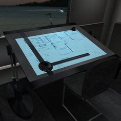 Engineering Drafting Table Craft Station Safety Glass And Light Table On Pinterest