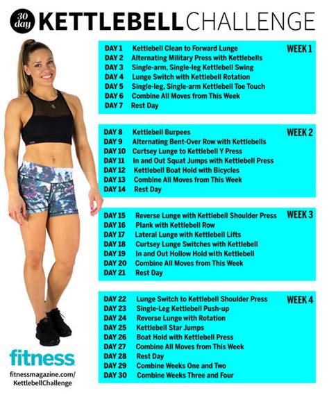 kettlebell swing results 30 day challenge kettlebell workout fitness magazine