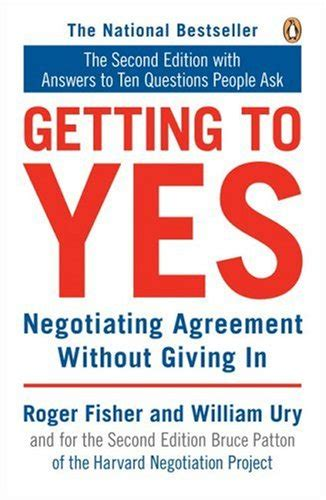 Getting To Yes 10 questions ask about getting to yes negotiationtechniques