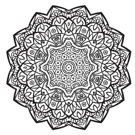 how to color mandalas free colouring pages 5 stunning mandalas to colour from