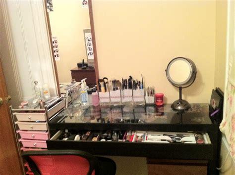 makeup organization ideas desk desjar interior makeup