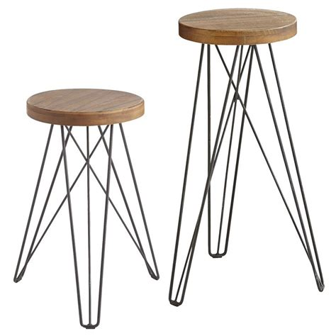 industrial design bar stools our modern industrial erie stools with their hairpin legs