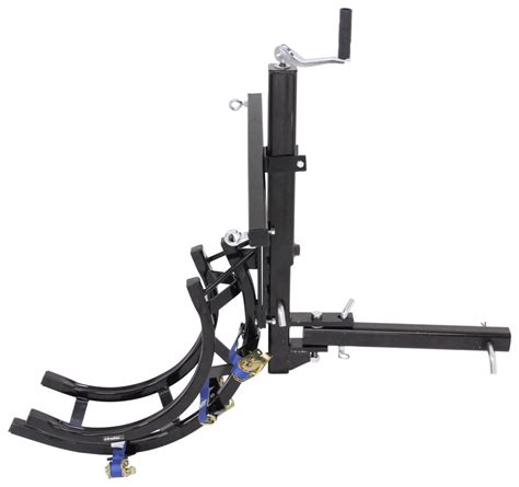 Trailer Hitch Motorcycle Rack by Trailer Hitch Mounted Motorcycle Carrier With And