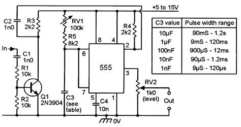 clock generator circuit diagram clock pulse generator circuit diagram circuit and
