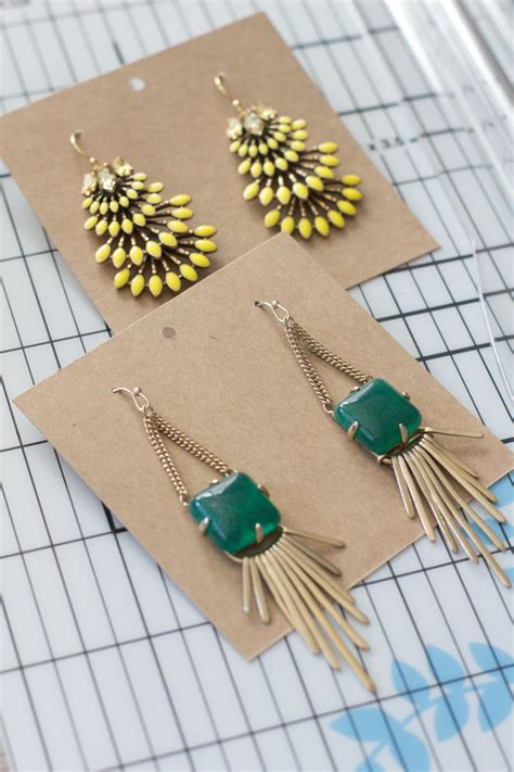 Diy Earring Card Template by 29 Images Of Diy Necklace Card Template Leseriail