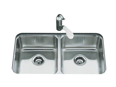 Kohler Undertone Kitchen Sink by Kohler K 3350 Na Undertone Equal Undercounter